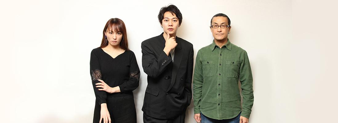 『カンフェティ』2月15日掲載 碓井将大さん、赤澤ムックさん、粟根まことさん