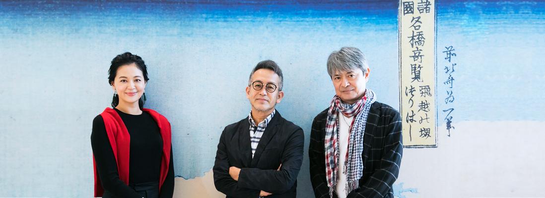 『カンフェティ』11月5日掲載 宮本亜門さん、升 毅さん、黒谷友香さん