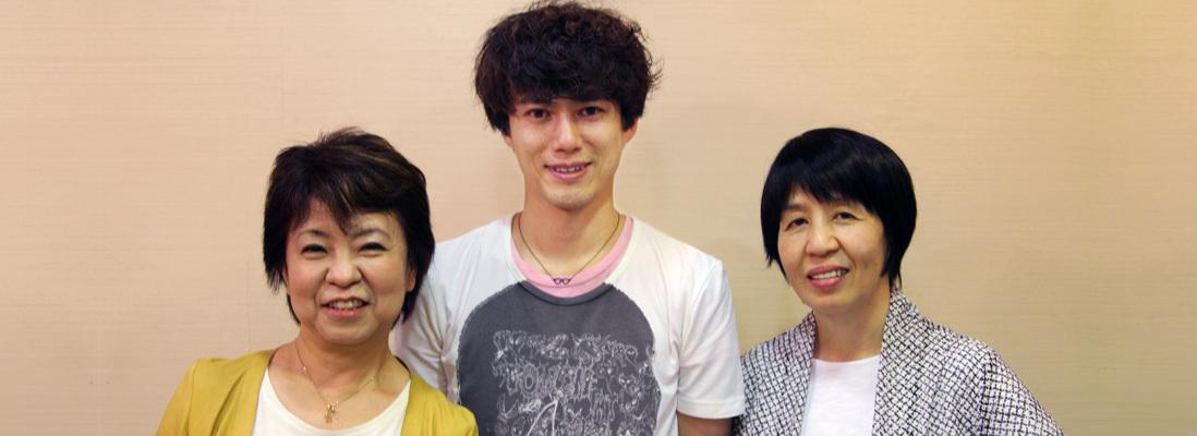 『カンフェティ』8月号 高橋知伽江さん、藤田俊太郎さん、深沢桂子さん